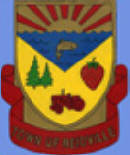 Town Crest created by Kenny Elms in 2000